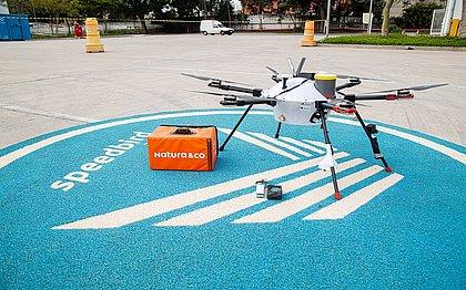 Por enquanto, os drones da Natura &Co estão em fase de testes