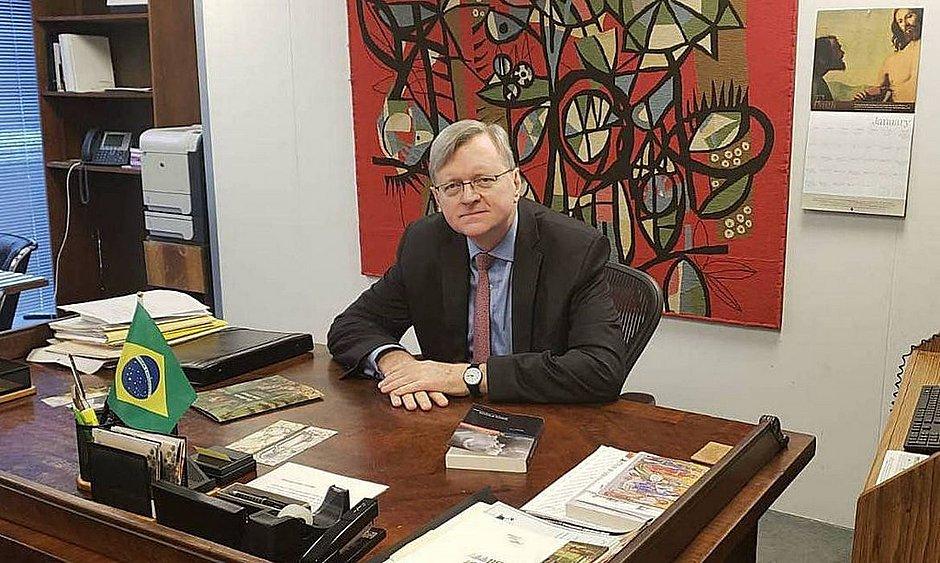 Senado aprova Nestor Forster para a embaixada do Brasil nos EUA