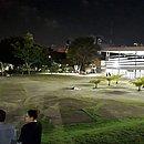 Campus de Ondina ficou praticamente vazio rapidamente