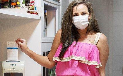 Higina Amoedo optou por colocar um relógio de ponto, para respeitar a jornada da funcionária doméstica