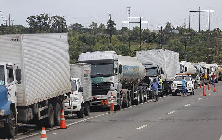 greve dos caminhoneiros