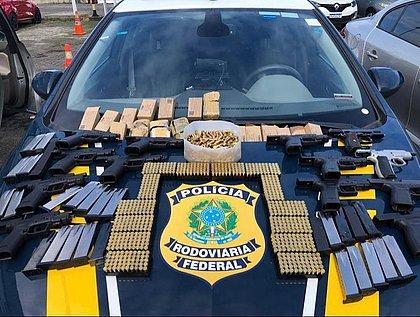 Bahia é a principal rota do contrabando de armas no Norte e Nordeste