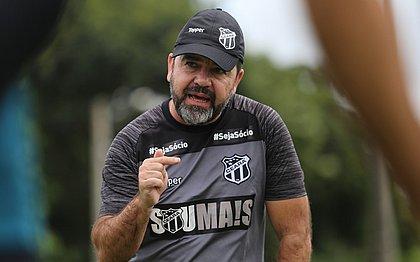 Cai mais um técnico: Enderson Moreira deixa o comando do Ceará