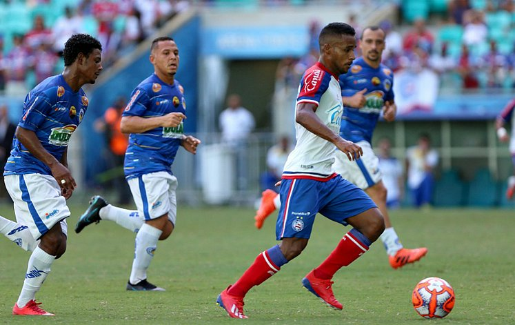 Bahia bate o Jacobina e volta a vencer após quatro jogos 318adc40edd98