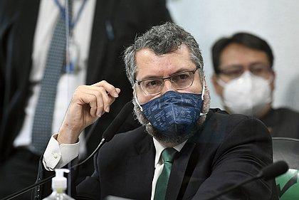 CPI: Araújo diz que ajudou na importação de insumos da Índia para cloroquina