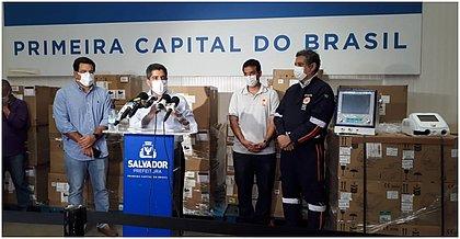 Anuncio foi feito na Central Municipal de Logística de Salvador