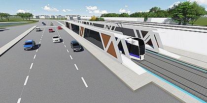 Modal fará integração com o metrô