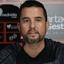 Osmar Loss em sua apresentação oficial no Vitória