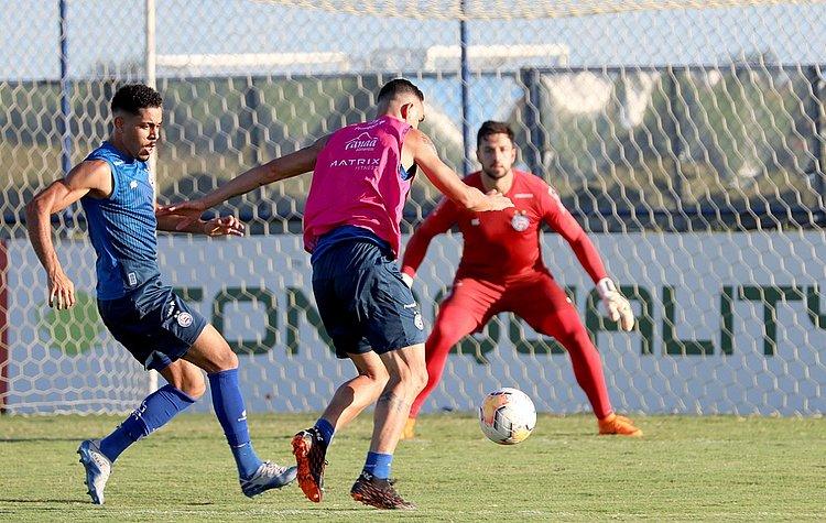 Bahia faz último treino antes de pegar o Unión; veja escalação