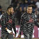 Pochettino minimizou possível desentendimento entre Neymar e Mbappé