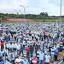 Trabalhadores da Ford em Camaçari fazem protesto contra demissões