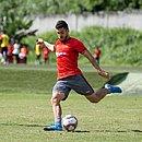 Atacante Marcinho comemorou dois gols com a camisa do Vitória na Série B