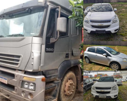 Ministério da Justiça leiloa veículos apreendidos em operações contra o tráfico