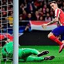 Gol de Saul deu a vitória ao Atlético de Madrid