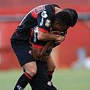 Ruan Potó marcou os dois gols do Leão e chorou bastante com o triunfo