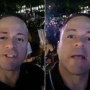 Wander gravou vídeos curtindo noite em bar de Petrolina, cidade vizinha a Juazeiro