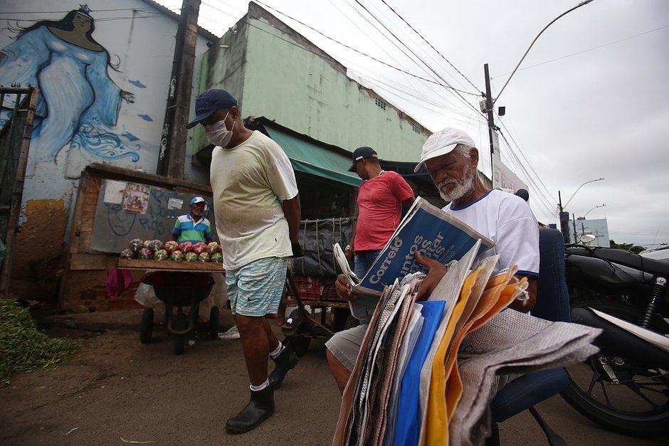 Feira de São Joaquim tem três mortes ligadas ao coronavírus e uma feirante na UTI