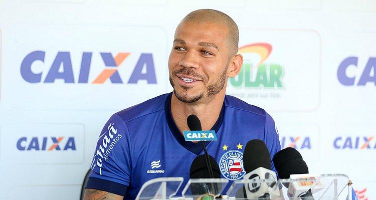 Nilton destaca mística em primeiro gol com a camisa do Bahia