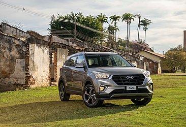 A nova versão do Hyundai Creta, a Smart Plus, custa R$ 91.590