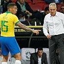 Tite e Allan pela seleção brasileira