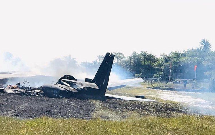 avião caiu em maraú