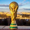 O troféu da Copa do Mundo
