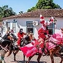 A Festa do Divino é mantida pelo povo pirenopolinos por quase dois séculos