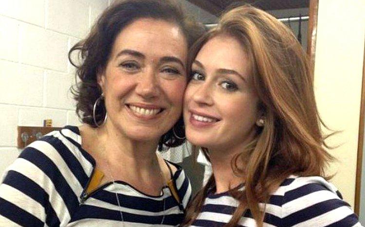 Lília Cabral se irrita com atraso e chama Marina Ruy Barbosa de mimada, diz site