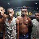 Criminosos que fizeram três pessoas reféns nesta quinta em Serra Verde; Éric à direita