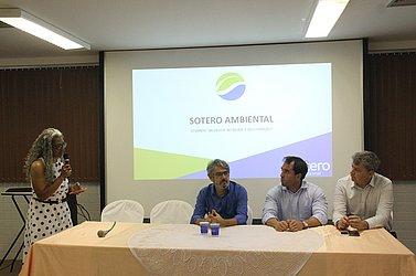 Linda Bezerra com Roberto Gazzi, Carlos Viana Neto e Marcelo Azevedo