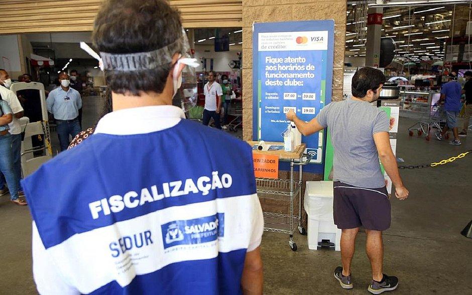 Plataforma, Boca do Rio, Centro e Pituba já tiveram 222 estabelecimentos interditados