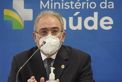 Ministro da Saúde anuncia início de 3ª dose da vacina para 15 de setembro