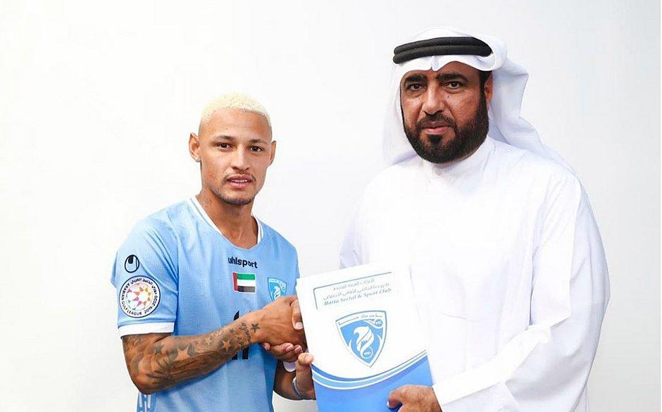 Neilton vai vestir a camisa do Hatta Club, dos Emirados Árabes
