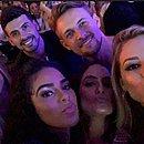 Grupo foi junto para show no Rio