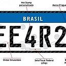 Países que fazem parte do Mercosul vão usar a mesma placa nos veículos