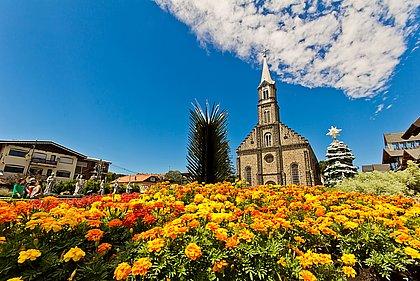 Gramado é conhecida como a cidade européia brasileira