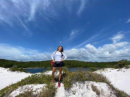 Trilhas de aventura são opção para quem visita a região de Baixio, em Esplanada