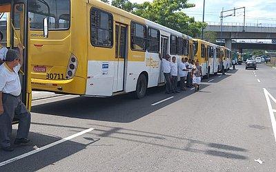 Manifestação congestiona trânsito na região do Iguatemi