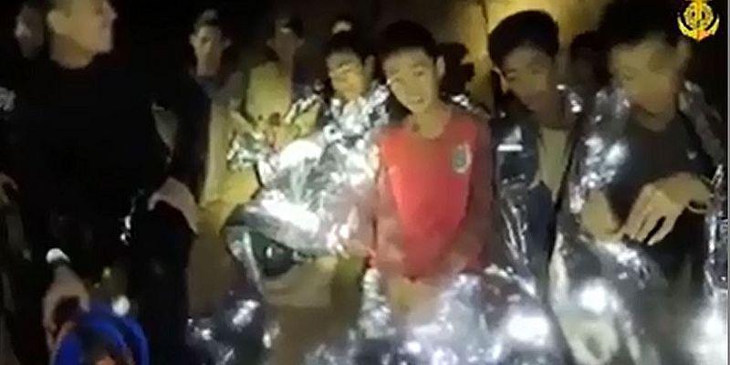 Galeria de fotos: Resgate na Tailândia