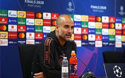 Pep Guardiola recusa rótulo de favorito do City contra Lyon