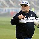 Ex jogador é o técnico do Gimnásia de La Plata