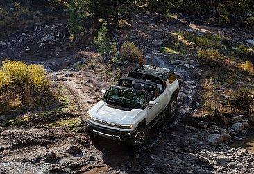 O novo modelo terá grande capacidade off-road