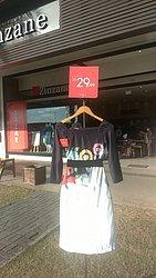 Shopping Bela Vista: Zinzane - vestido, de R$ 129,99 por R$ 29,99 (76,9% de desconto)