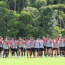 Vitória faz último treino preparatório em Salvador para estreia na Copa do Brasil