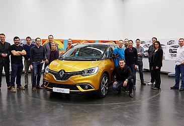 Agneta Dahlgren, à esquerda, comanda o time de designers da Renault