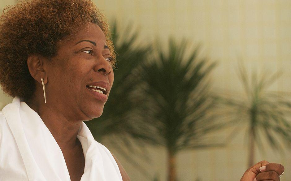 Arany é uma das fundadoras do bloco afro Ilê Aiyê