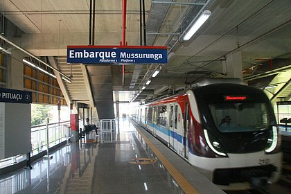 Metrô funciona até 20h30 e embarque no ferry será até 19h