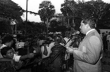 Ex-governador Nilo Coelho no Dois de Julho