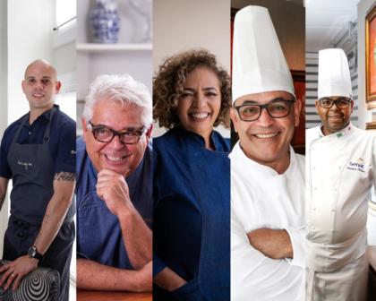 Cozinha Show do Festival Tempero Bahia reúne chefs de todo país