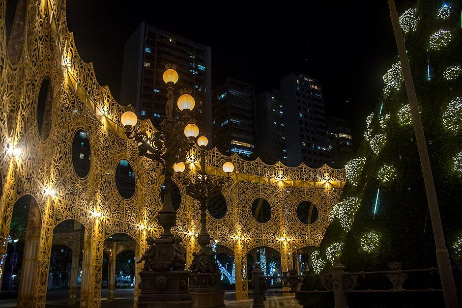Decoração de Natal do Campo Grande terá visita agendada através de site